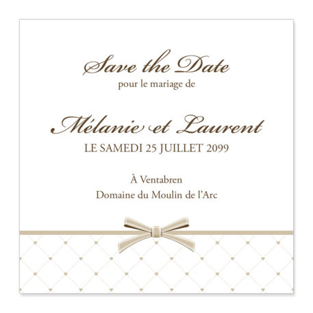 Save the date Magnet Tilda Brown AM11-TRA-11B-1
