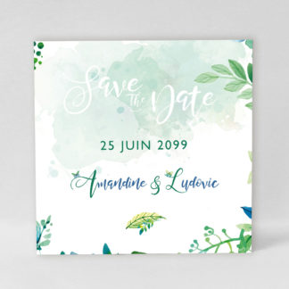 Save the date Magnet Charming Butterfly AM53-NAT-103-1