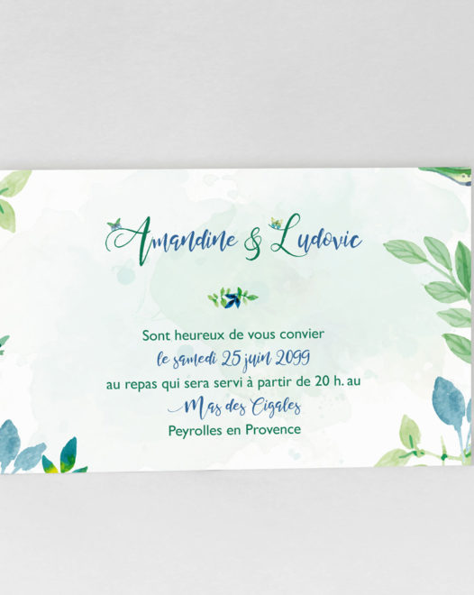 "Carton d'invitation ""Charming Butterfly"""