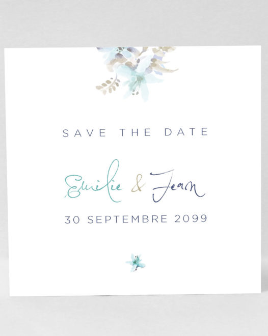 """Save the Date Magnet """"Lysa"""""""